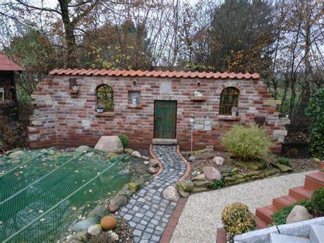 ideen terrassengestaltung 4632 bildergebnis f 252 r ruinenmauer aus alten abbruchziegeln