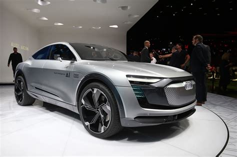 future audi audi aicon and elaine concepts at 2017 frankfurt motor
