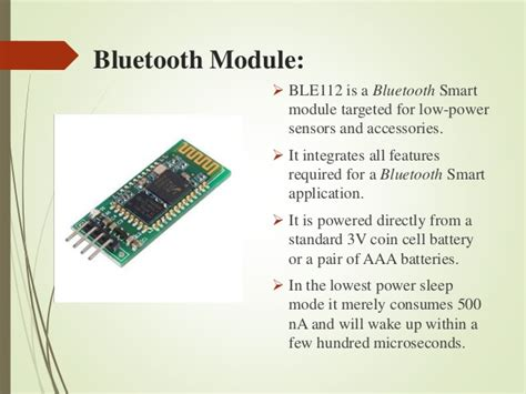 bluetooth based home automation system project report