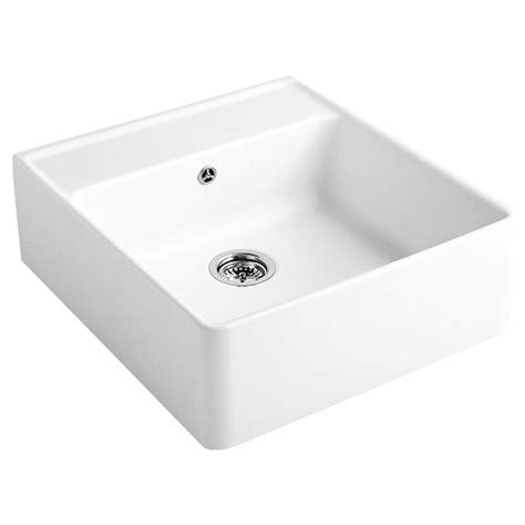 villeroy and boch sinks villeroy and boch butler 60 single bowl ceramic kitchen sink