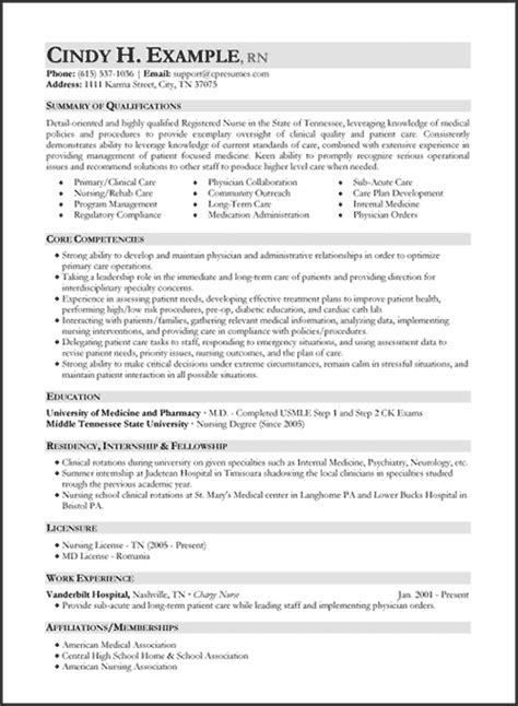 sle registered resume 28 images resumes exles cms