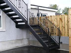 How To Make Steel Stairs by Outdoor Steel Stairs External Steel Stairs External