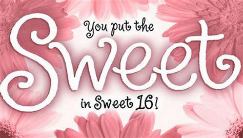 Happy Birthday Wishes Sweet 16 16th Birthday Wishes 16th Birthday Wishes And Text