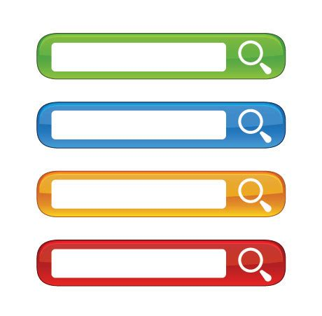 Search 4 Free Free Colorful Website Search Boxes Vector Free Vector 4vector
