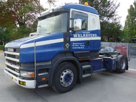 scania t 164 l 480 torpedo tractor unit from belgium for