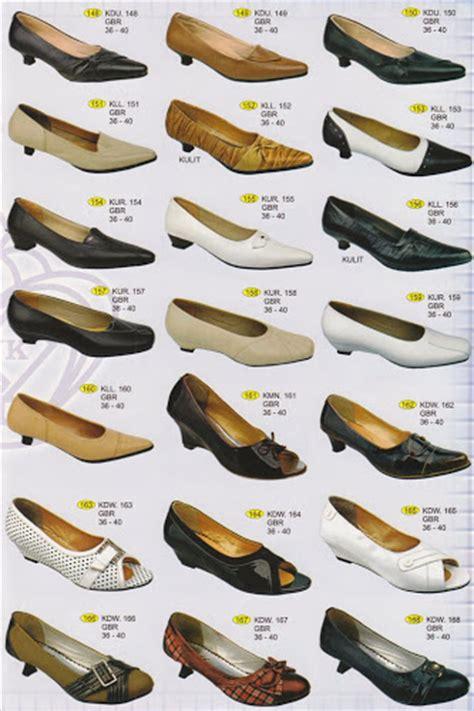 daftar harga sepatu pantofel wanita berbagai ukuran 2017 lengkap