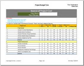 project budget template cyberuse