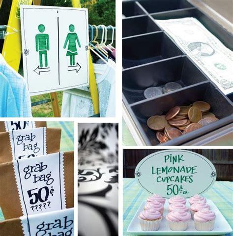 yard sale signs ideas yardsale tips