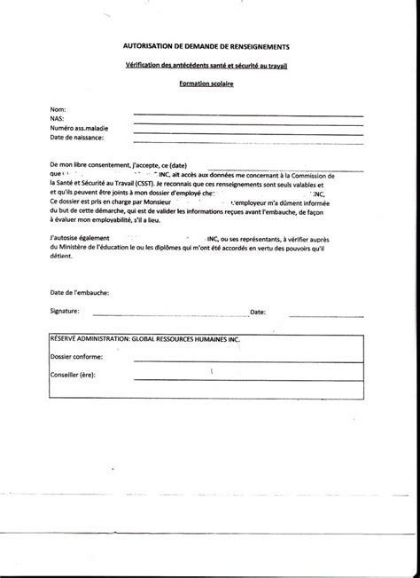 Exemple De Lettre De Procuration Entreprise Commission Des Droits De La Personnes Qu 233 Bec
