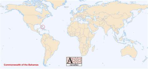 where is the bahamas located on the world map world atlas the sovereign states of the world bahamas
