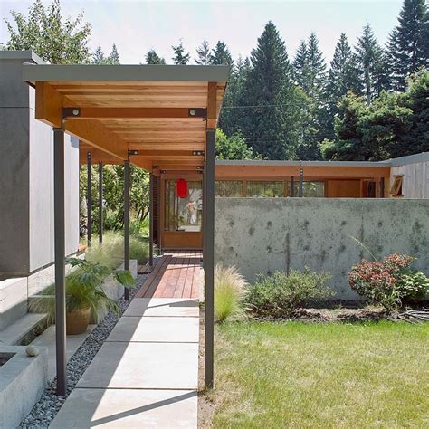 covered garage covered walkway from house to garage google search