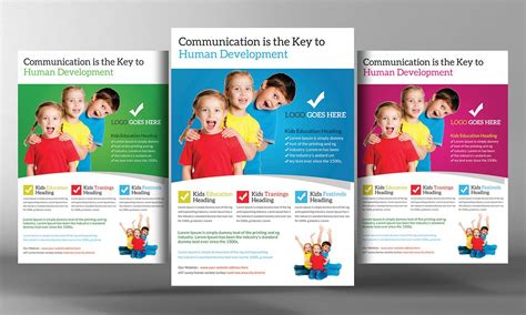 templates for educational flyers school education flyer template flyer templates