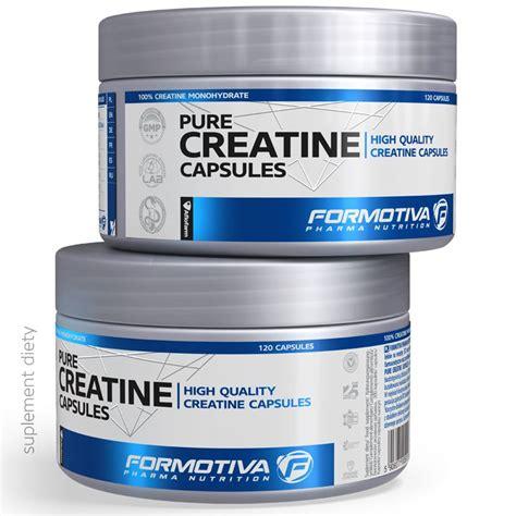 creatine w tabletkach formotiva cratine 120kaps czysta kreatyna w