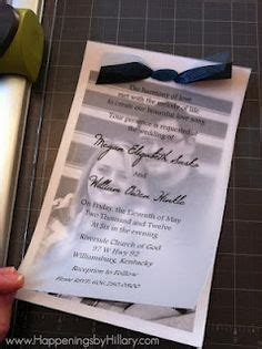 Printed Wedding Invitations Velum by Wedding Invitation Photo With Vellum Overlay Several