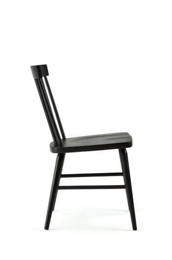 Shaker Style Dining Chairs Hugh Shaker Dining Chair In White Black Brown