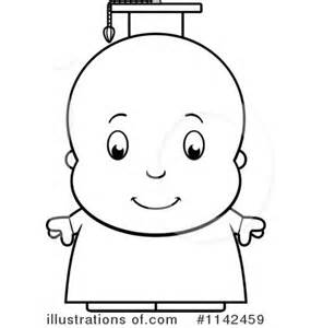 Royalty Free RF Baby Clipart Illustration By Cory Thoman  Stock sketch template