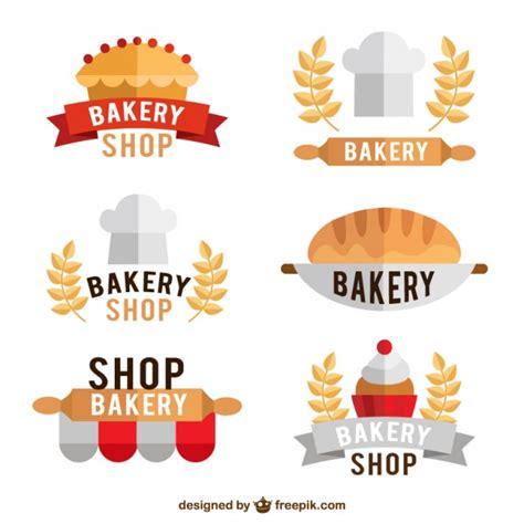 free bakery logo templates bakery shop logo templates vector free