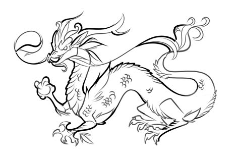 chinese dragon coloring pages easy free printable dragon coloring pages for kids