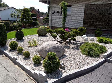 Gartengestaltung Steine Vorgarten by Vorgarten Steine Kies Steine Vorgarten Picture Picture