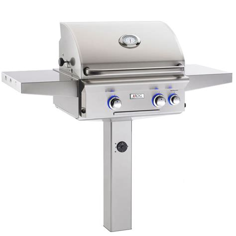 Outdoor Grill Lighting American Outdoor Grill In Ground Grill With Interior Lights S Gas