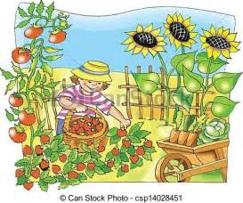 clipart garten vegetable garden clip search plants and