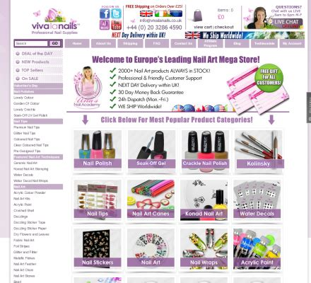 Nail Technician Supplies by Professional Nail Supplies By Viva La Nails Professional
