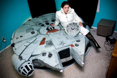 Millennium Falcon Bed by The Millennium Falcon Bed