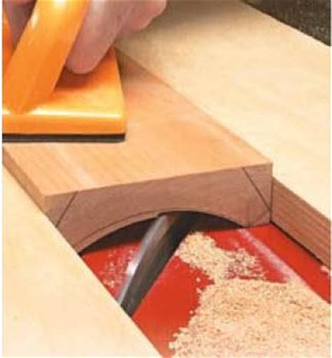 cove cutting on table saw game changer woodworking