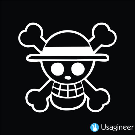 Stiker Anime One one luffy pirate anime decal sticker anime decals