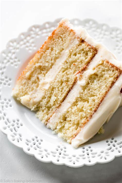 vanilla cake ive   sallys baking addiction