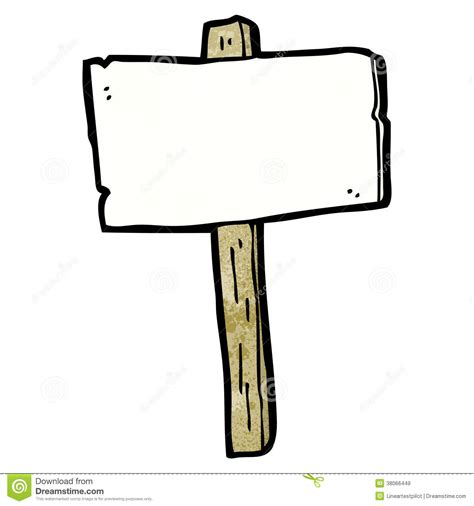 sign post template blank signpost stock vector image of sign