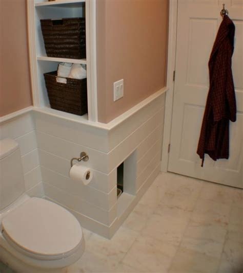 Litter Box In Closet by Litter Cubby Cut A In A Wall Or Door That