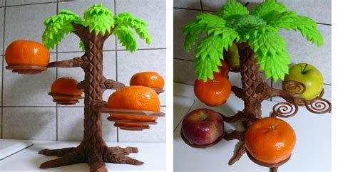 fruit 3d printer 3d printed style palm tree holds your fresh fruit