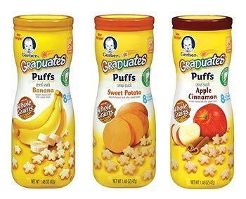 Gerber Graduates Puff By Susupedia gerber graduates puffs apple banana sweet