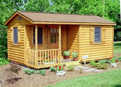 Rustic Log Cabin Plans shed plans 8x12 storage shed with side porch