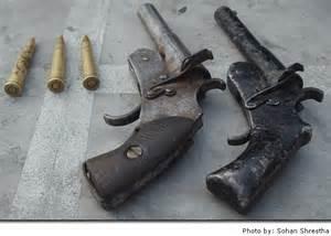 pistols india impro guns