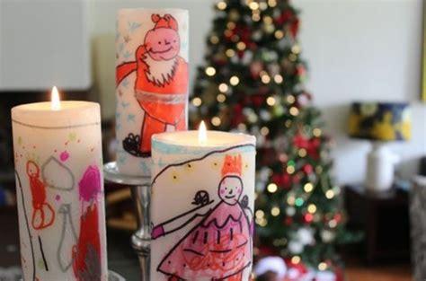 decorar velas para navidad velas decoradas por ni 241 os para navidad fiestas y cumples