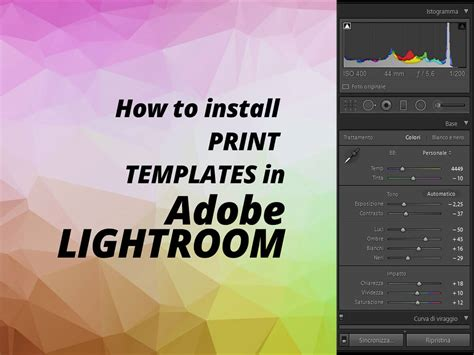 adobe lightroom templates lightroom print templates presets for photographers