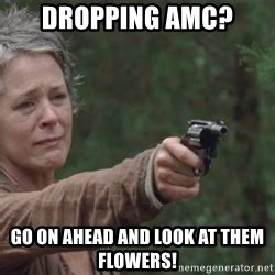 Look At The Flowers Meme - carol walking dead meme look at the flowers www pixshark