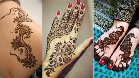 latest  cool easy henna designs  sheideas