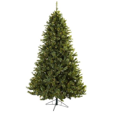 majestic noelpine artificial christmas tree nearly 7 5 ft majestic multi pine artificial tree with 650 clear lights 5375