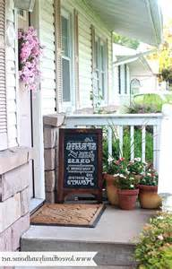 summer porch makeover chalkboard art love of family home small front porch decorating photos