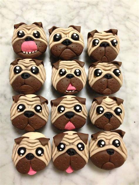 cookie pug theflourgirl pug cookies cake pops iced cookies d kapkejky