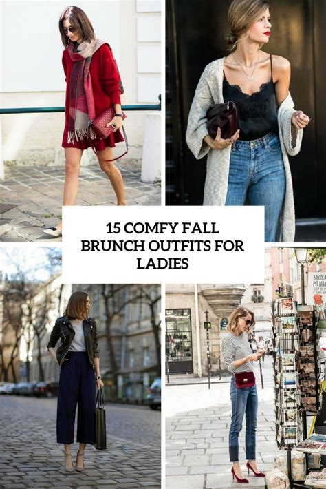 comfy fall brunch outfits  ladies obsigen