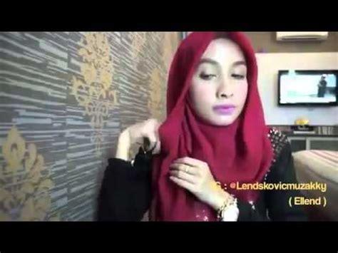 tutorial hijab pashmina acara formal hijab tutorial pashmina untuk acara formal youtube