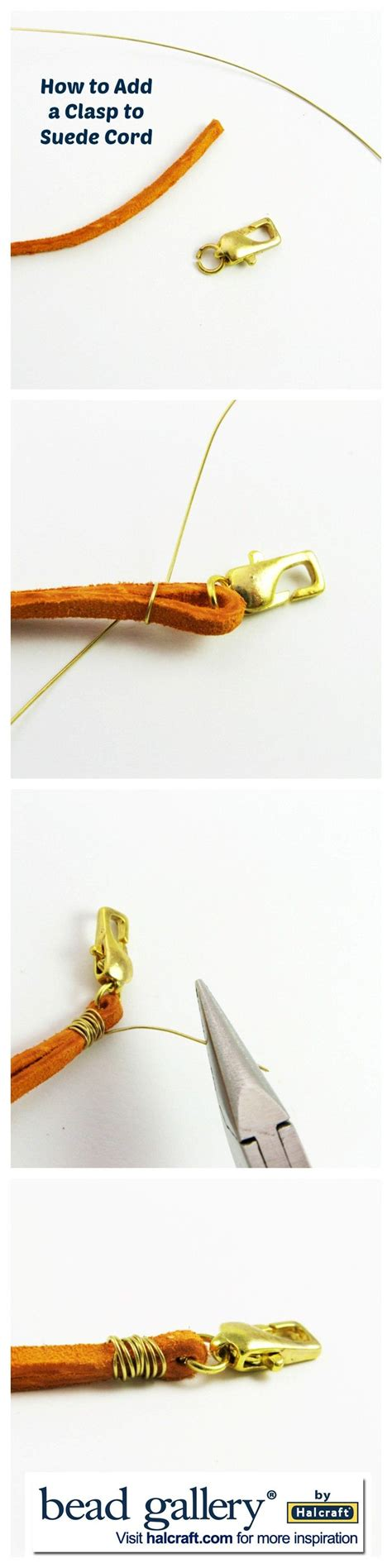 how to add a clasp to a beaded bracelet diy bijoux how to add a clasp to suede cord j beading