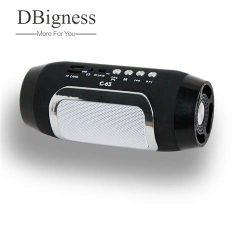 Bluetooth Mini Portable dbigness bluetooth speaker mp3 player altavoz bluetooth