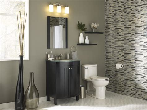fashonably functional small bath modern bathroom