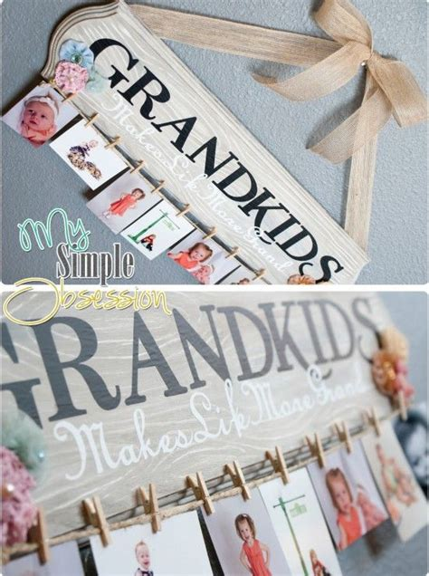Handmade Grandparent Gifts - 14 thrifty gifts to make for grandparents diy