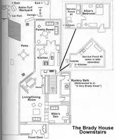 floor plan of the brady bunch house brady bunch shrine dowloads faq links